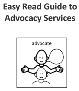 Image of easy read leaflet